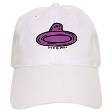 Right Leaning Condom Baseball Cap