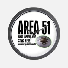 AREA 51, Wall Clock