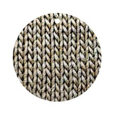 Knitted Pattern Ornament