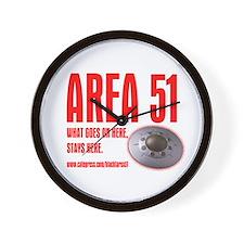 AREA 51, Wall Clock