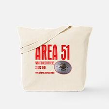 AREA 51, Tote Bag