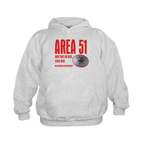 AREA 51, Kids Hoodie