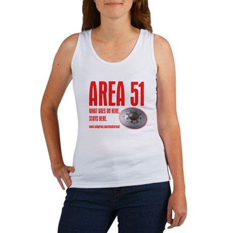 AREA 51, Women's Tank Top