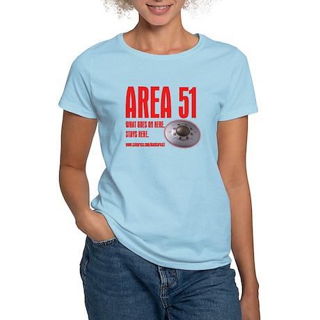 AREA 51, Women's Light T-Shirt
