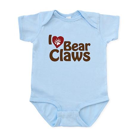 I Love Bear Claws Infant Bodysuit