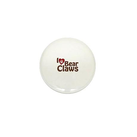 I Love Bear Claws Mini Button (10 pack)