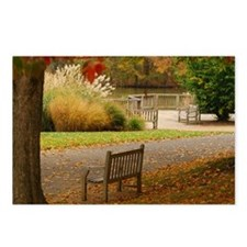 Autumn Bench Postcards (Package of 8)