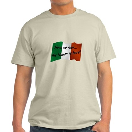 The Italian is Here Light T-Shirt