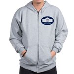 White House Party Crasher Zip Hoodie