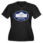 White House Party Crasher Women's Plus Size V-Neck
