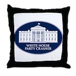 White House Party Crasher Throw Pillow