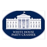 White House Party Crasher Postcards (Package of 8)