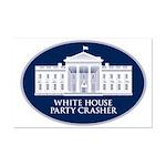 White House Party Crasher Mini Poster Print