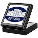 White House Party Crasher Keepsake Box