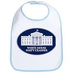 White House Party Crasher Bib