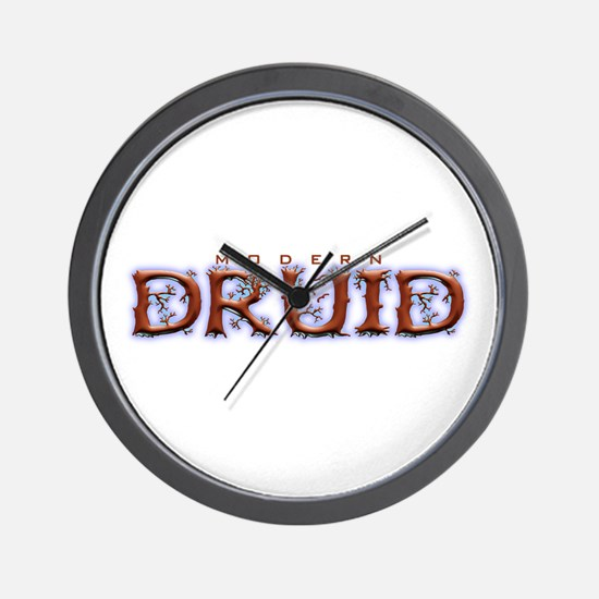 Modern Druid Wall Clock
