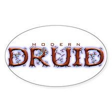 Modern Druid Oval Decal