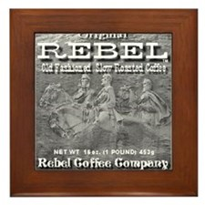 Rebel Coffee Framed Tile