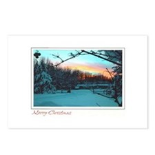 Christmas - Wintertime Postcards (Package of 8)