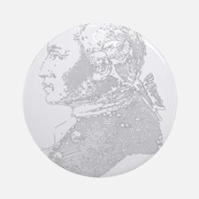 Immanuel Kant Ornament (Round)