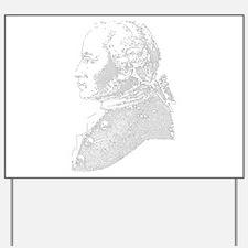 Immanuel Kant Yard Sign