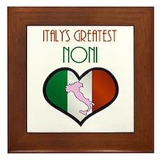 Italy's Greatest Noni Framed Tile