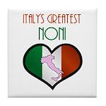 Italy's Greatest Noni Tile Coaster