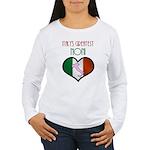 Italy's Greatest Noni Women's Long Sleeve T-Shirt