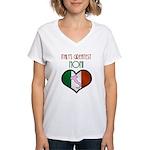 Italy's Greatest Noni Women's V-Neck T-Shirt