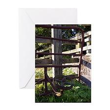 Fences Greeting Card