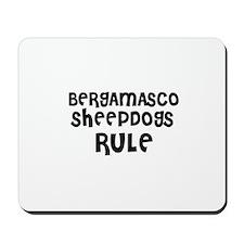 BERGAMASCO SHEEPDOGS RULE Mousepad