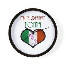 Italy's Greatest Nonna Wall Clock