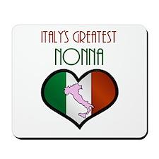Italy's Greatest Nonna Mousepad