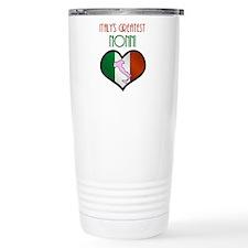 Italy's Greatest Nonni Travel Mug
