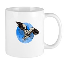 Blue Moon Owl Mug