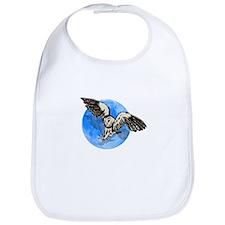 Blue Moon Owl Bib