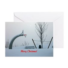 Christmas - Wintertime Greeting Card