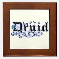Born to be Druid Framed Tile