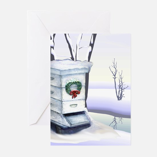 Winter Hive Greeting Cards (Pk of 10)