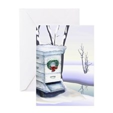 Winter Hive Greeting Card