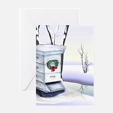 Winter Hive Greeting Card
