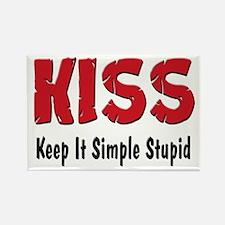 Keep It Simple Stupid Rectangle Magnet