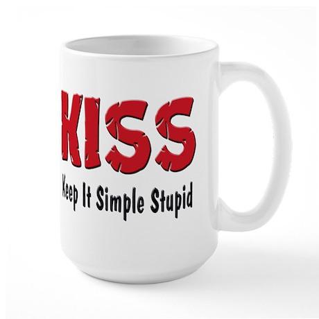 Keep It Simple Stupid Large Mug