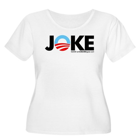 Joke Women's Plus Size Scoop Neck T-Shirt