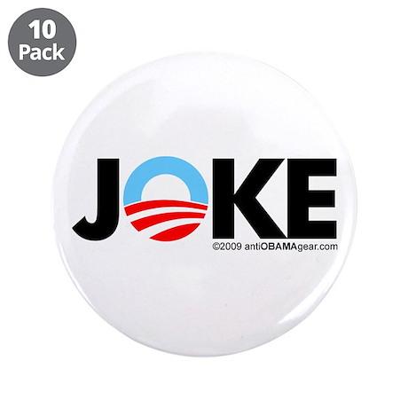"""Joke 3.5"""" Button (10 pack)"""