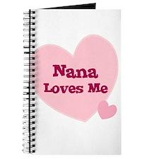 Nana Loves Me Journal