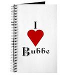 I Love (heart) Bubbe Journal