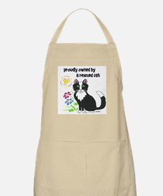 """Rescued Cat"" Apron"