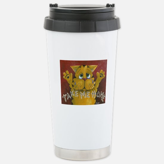 Take Me Home Stainless Steel Travel Mug