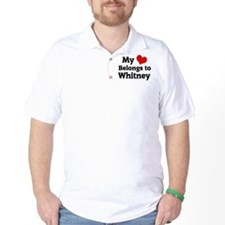 My Heart: Whitney T-Shirt